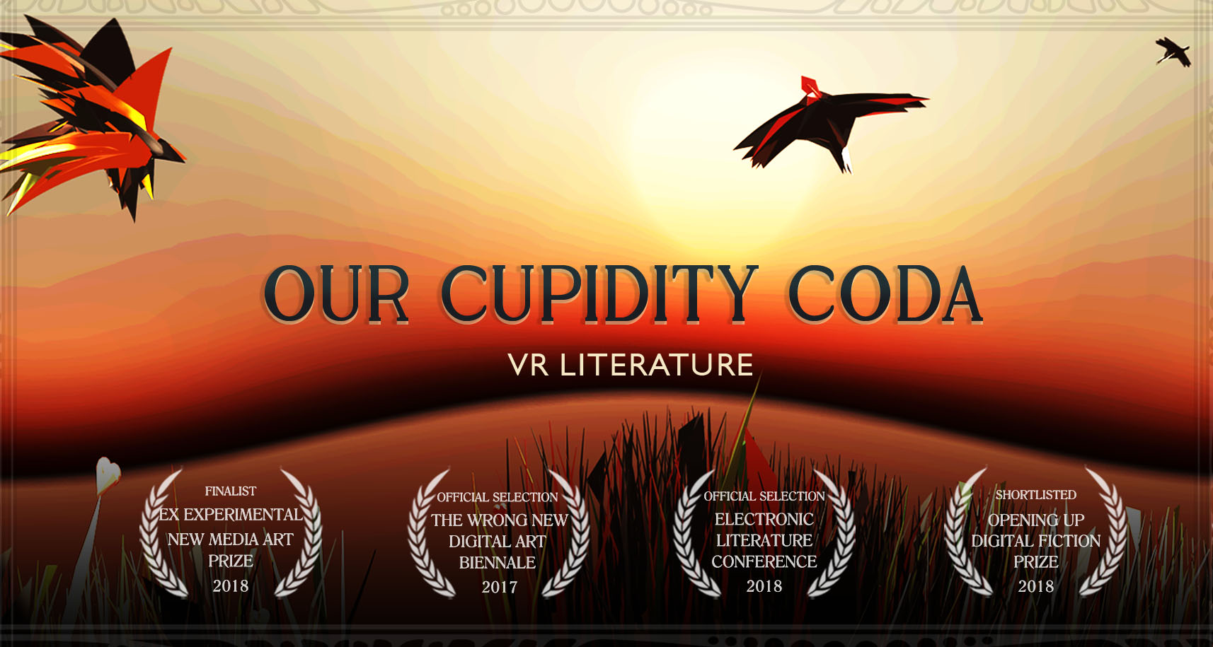 Our Cupidity Coda front cover