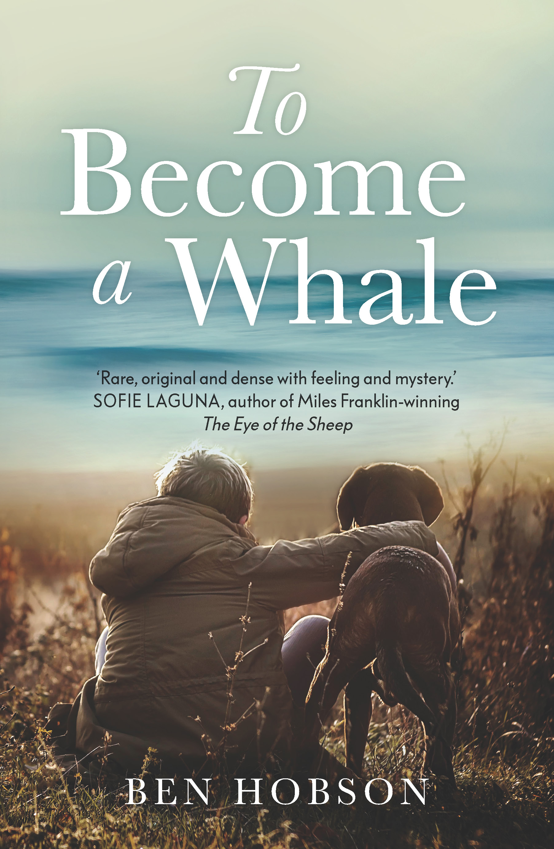 To Become a whale- cover